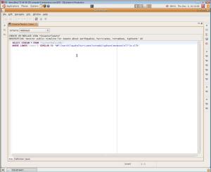 SQLstream screenshot