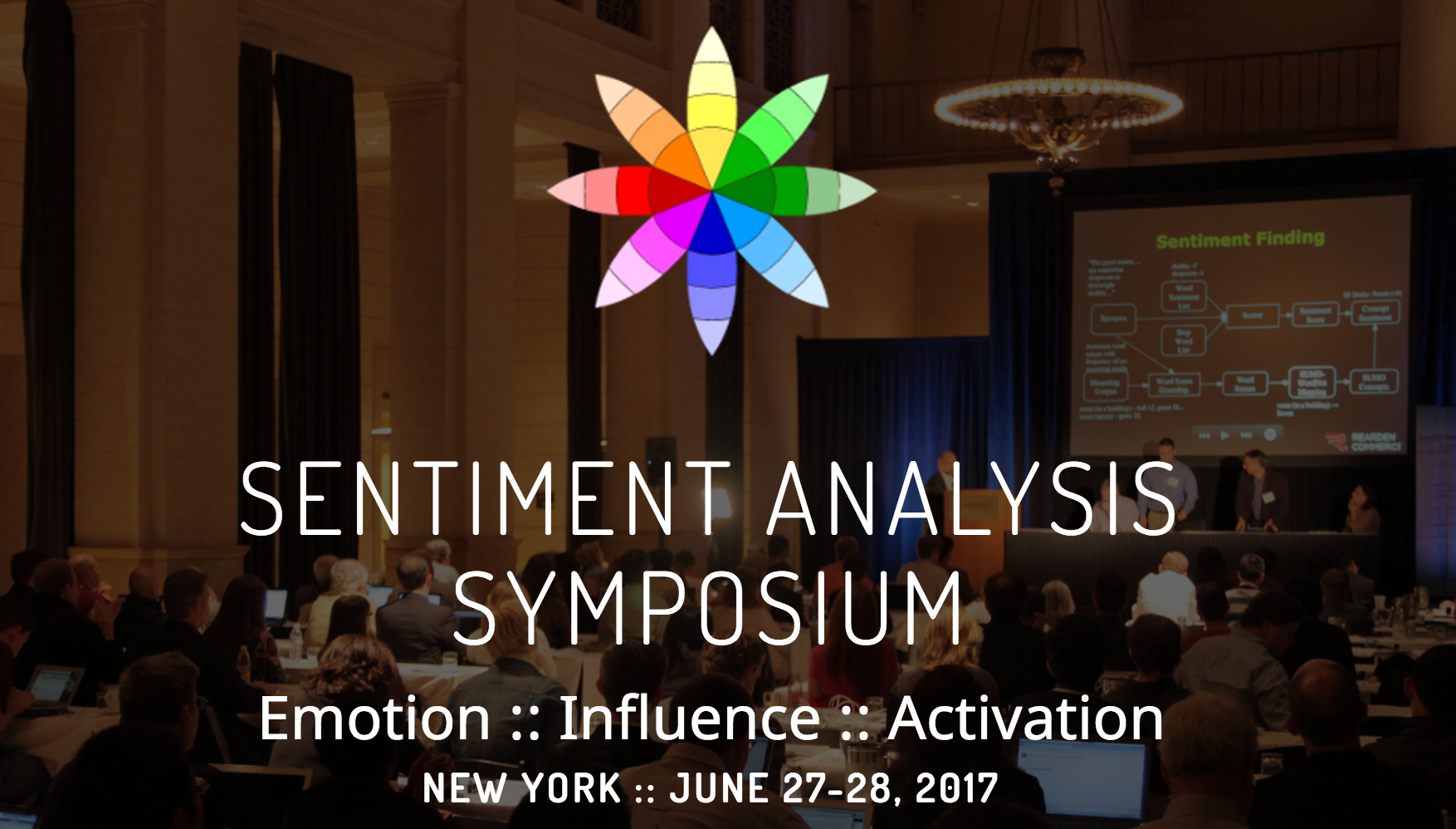 Sentiment Analysis Symposium badge